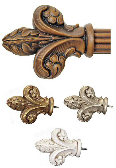 TMS Menagerie DuBois Drapery hardware Finial On Sale