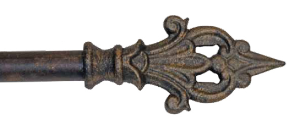Wrought Iron Spear finials