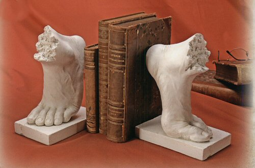 Sculptural Feet Bookends