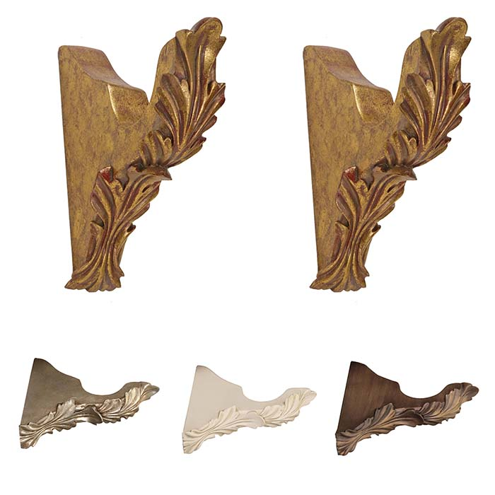 Menagerie Scroll Drapery Bracket