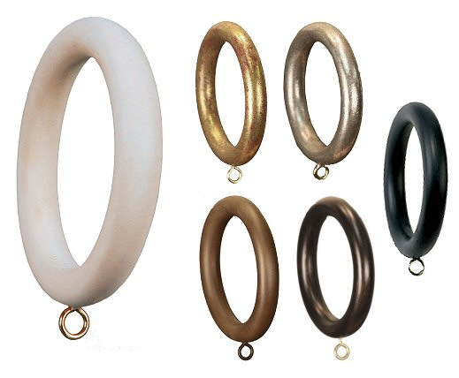 Smooth Drapery Rings