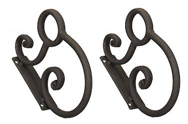 Wrought Iron Rolled Brackets