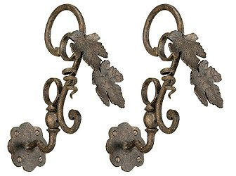 Wrought  Iron Grapevine Brackets