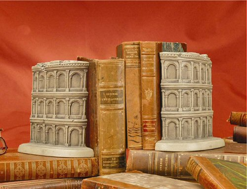 Coliseum Bookends