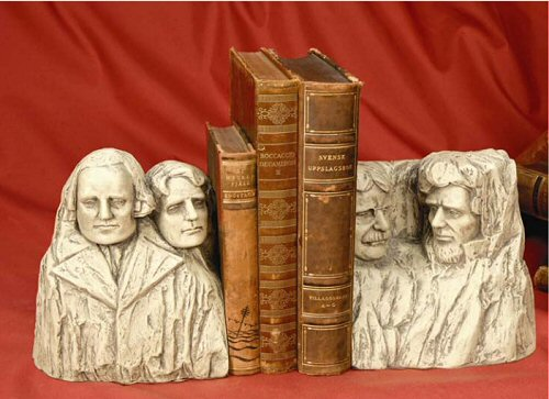 Mount Rushmore Bookends