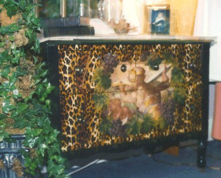 Decoupage Chest